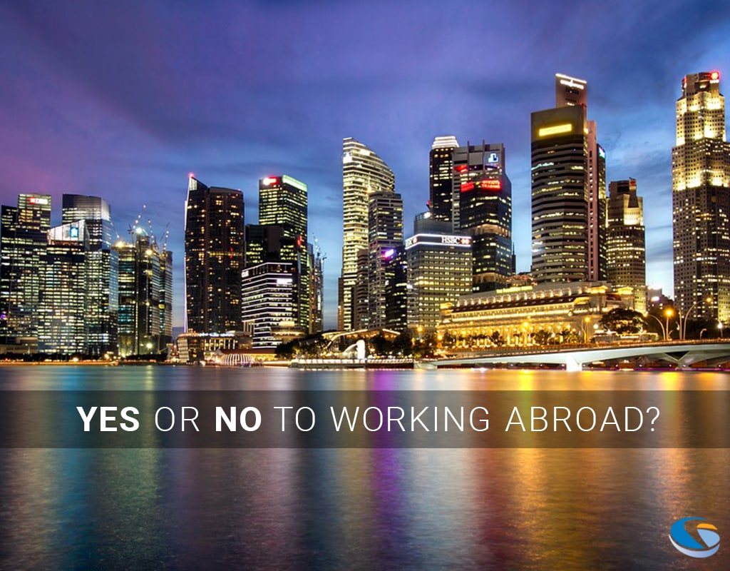 Yes or No to working abroad? Fibernetics