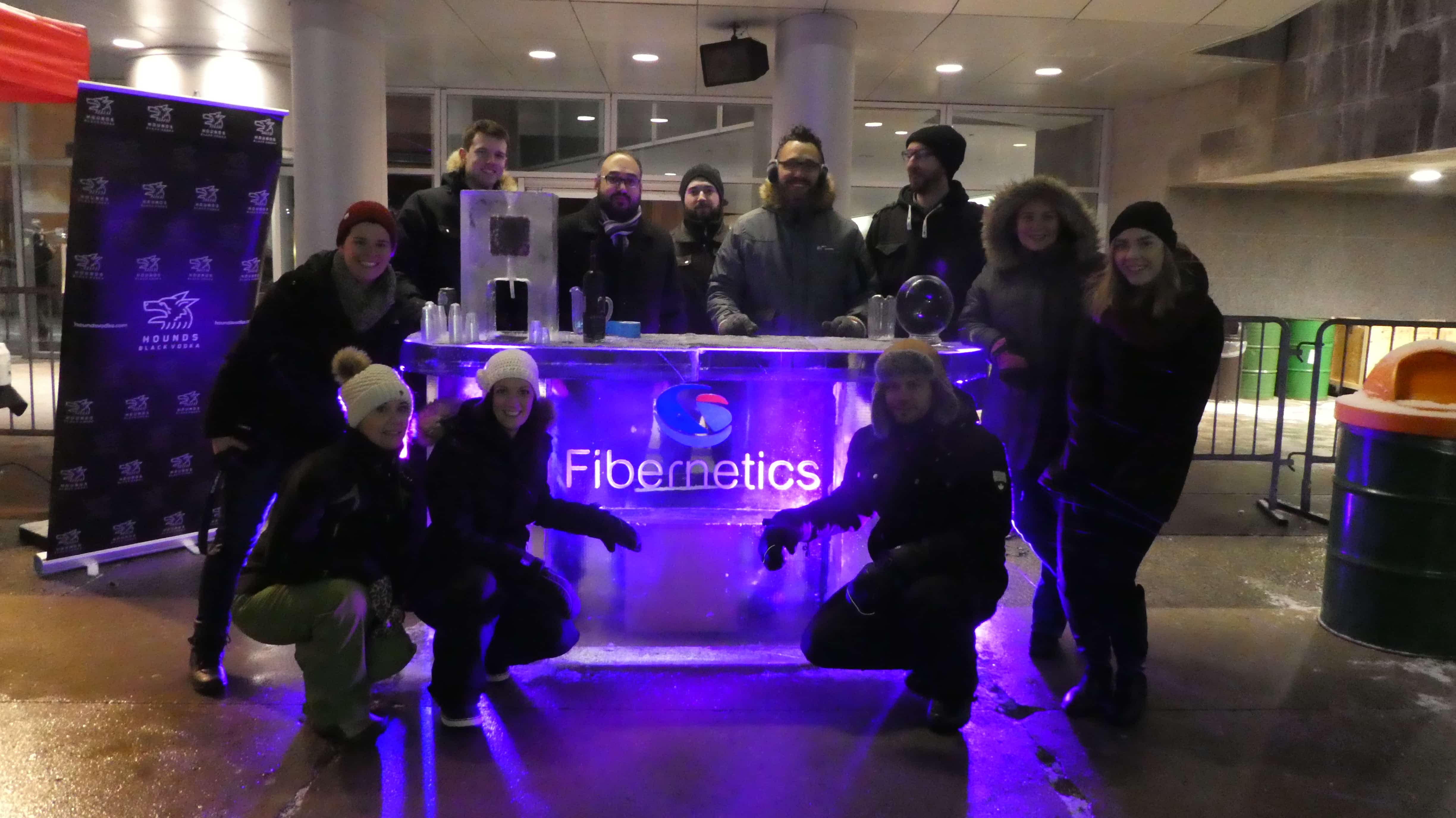 Fibernetics Ice Bar