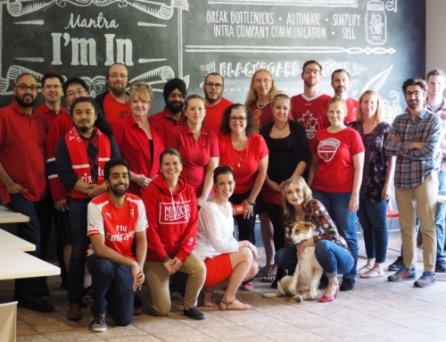 Fibernetics' Staff Wears Red for Women's Heart Health Awareness