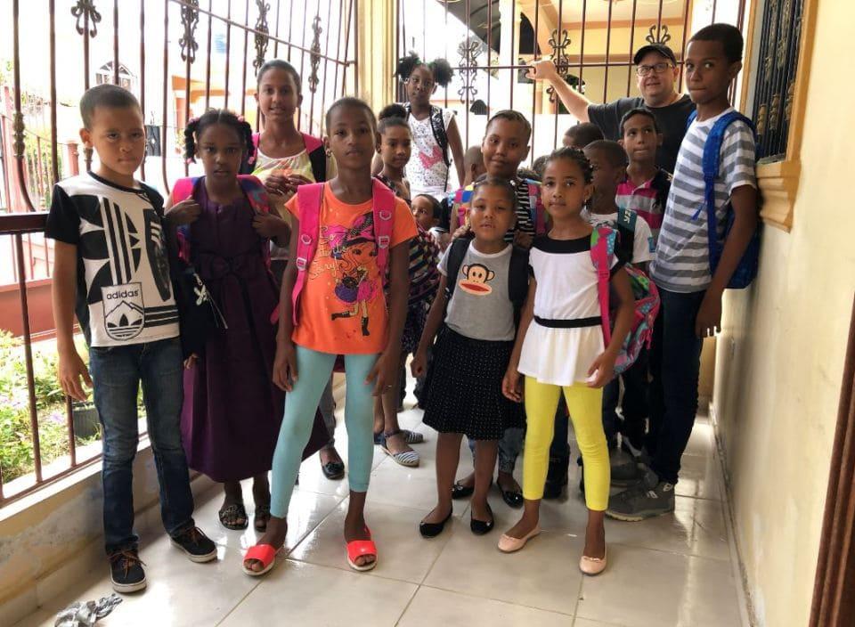 Backpack for Kids - Fibernetics Dominican Republic
