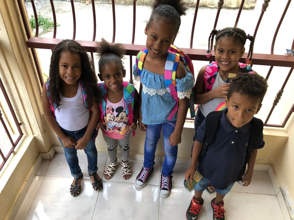 Backpack for Kids - Fibernetics Dominican Republic